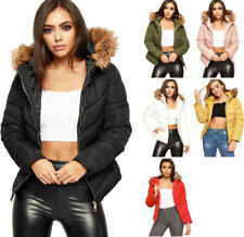Cappotti e giacche da donna da esterni lunghezza ai fianchi poliestere