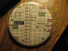 San Francisco California Hayes Valley Alamo Square Neighborhood Pocket Mirror
