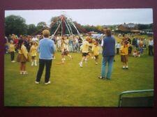 POSTCARD B4 SUSSEX HERSTMONCEUX - MAYPOLE DANCING LOTS OF SCHOOL CHILDREN