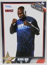 2013 TNA Impact Wrestling Glory King Mo SP Red Insert # 6 / 40