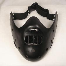 Black Resin Replica Black Doctor's Deluxe Hannibal Mask Halloween With Straps