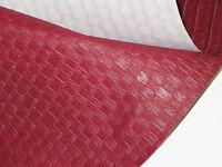 OX BLOOD BASKET VINYL UPHOLSTERY SAILING BOAT DINING BENCH SEATS r  VINPF4