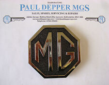 MG MGB GT avvio Badge (Metallo) cha545