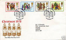 22 NOVEMBER 1978 CHRISTMAS POST OFFICE FIRST DAY COVER BUREAU SHS