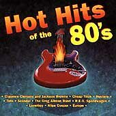Hot Hits of the 80's by Various Artists (CD, Apr-1995, Sony Music Distribution
