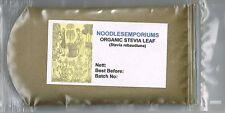 Stevia Leaf Powder 'ORGANIC' 50g (Stevia  rebaudiana) Sweet Leaf, Non GMO