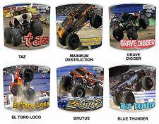 Monster Truck Jam Lampshades, Ideal To Match Monster Trucks Jam Duvets Covers