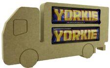 MDF Truck - Chocolate Bar Holder Freestanding Christmas Shape