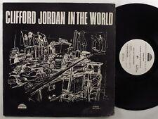 CLIFFORD JORDAN In The World STRATA-EAST LP promo