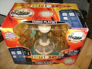 DOCTOR WHO TARDIS PLAYSET - 10th DOCTOR - UNUSED in BOX