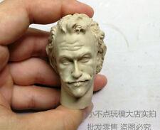 Free Ship 1/6 scale Head Sculpt Creg 3.0 Joker with hair Heath Ledger unpainted