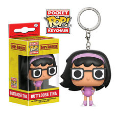 Bob's Burgers - Buttloose Tina US Exclusive Pocket Pop! Keychain NEW Funko