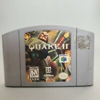 Quake II 2 (Nintendo 64, 1998) Cartridge Only N64 Authentic Tested