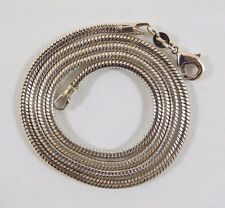 Sterling Silver Italy Snake Chain Necklace 2.5mm