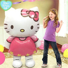 Large Size Kitty Cat Helium Foil Balloon Wedding Birthday Party Decor Kids Gift