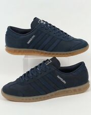 NEW Adidas Hamburg Mineral Blue Leather / Gum Sole Men's 11 samba spezial
