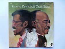 Sammy Davis Jr Sammy Davis Jr & Count Basie LP MGM SE4825 EX/EX 1973 US pressing