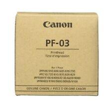 Original Print Head Canon PF-03 Ipf 510 610 650 655 710 750 8000 8100 Printhead