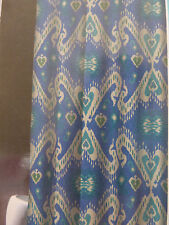 """Traditions by Waverly Englightened Fabric Shower Curtain 70"""" x 72"""" NIP"""