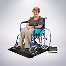 660 lbs Digital Floor Wheelchair Scale Portable Platform Patient Medical w/ Ramp