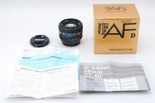【MINT in BOX】Nikon AF NIKKOR 50mm f/1.4 D Lens From Japan#69