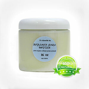 RAW REFINED SHEA BUTTER ORGANIC COLD PRESSED PURE 2 OZ 4 OZ 8 OZ-UP TO 12 LB