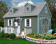 Best Barns 12' x 20' Arlington Wood Shed Kit
