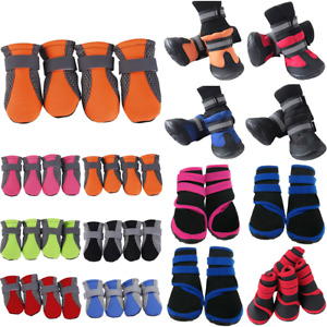 Pet Dog Puppy Winter Shoes Boots Anti Non-Slip Paw Protector Protective