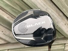 NEW MENS CLEVELAND BLACK 1 WOOD DRIVER GOLF CLUB RH BASSARA STIFF 9 DEGREE