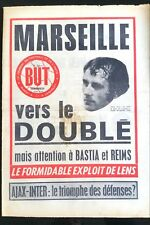BUT Football 21/04/1972; Marseille vers le doublé/ Ajax-Inter/ Exploit de Lens