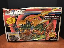 GI Joe 1991 Fort America Vehicle Sealed Box  Dela0491