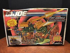 GI Joe 1991 Fort America Vehicle Sealed Box  Dela0491