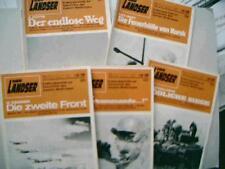 Der Landser Geschichte des zweiten Weltkrieges 5 Romane