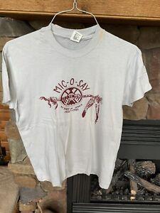 1985 Mic-O-Say t-shirt -Camp Geiger - Large