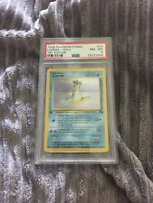 PSA 8 NM Mint Lapras Holo First Edition 1999 Fossil #10 Rare Pokemon