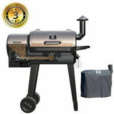 Z Grills Zpg-450A Wood Pellet Grill Bbq Smoker Digital Control with Free Cover