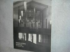 Visser-Rowland Pipe Organ Co. dedication booklet. Faith Amer. Luther Ch.