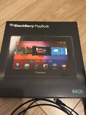 Blackberry Playbook 64gb Tablet Computer & Box With IVSO Bluetooth Keyboard Case