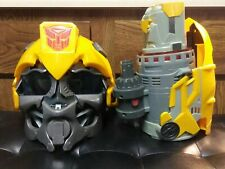 Hasbro Transformers BumbleBee Talking Voice Changer Helmet w/ Plasma Cannon