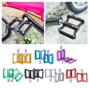 Bike Flat Platform Pedals Bicycle Cycle Sealed Bearing 9/16 inch Replacement