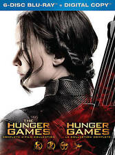 The Hunger Games Collection (Blu-ray Disc, 2016, 6-Disc Set, Canadian)