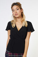 Revival  Home Away From Home Blouse in Black