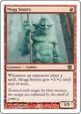 MOGG SENTRY Eighth Edition MTG Red Creature — Goblin Warrior RARE