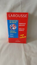 Larousse New & Revised Dictionary Français-Anglais English French 2002