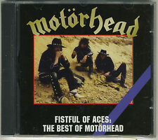Fistful of Aces: The Best of Motorhead Brand New Sealed CD Lemmy Eddie Clark !!!