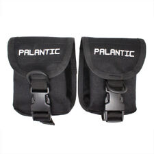 Scuba Diving Palantic Trim Counter Weight Pocket Pouch with QR Buckles, Pair
