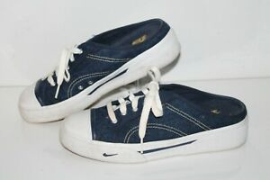 Nike Hermosa Denim Casual Mule Sneaker, #143028-471, Denim, Women's US 8.5