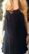 New Next size 8-10,Petite Raffle Layered Tailored Women's Dress,Black