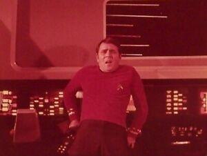 """RARE 1968~STAR TREK """"IMMUNITY SYNDROME""""~SCOTTY~35mm FILM CLIP/SLIDE~LOT 246"""