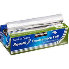 Kirkland Reynolds Foodservice Aluminum Foil Single Sheets, 500 Count, 10.75